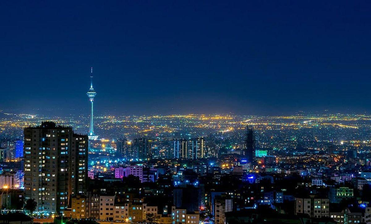 شوخی با شب های تهران