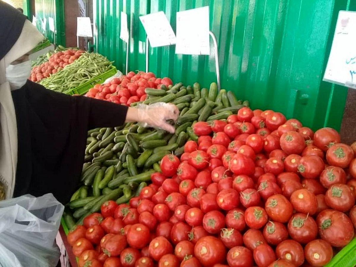 فصل سرما و افزایش قیمت محصولات صیفی