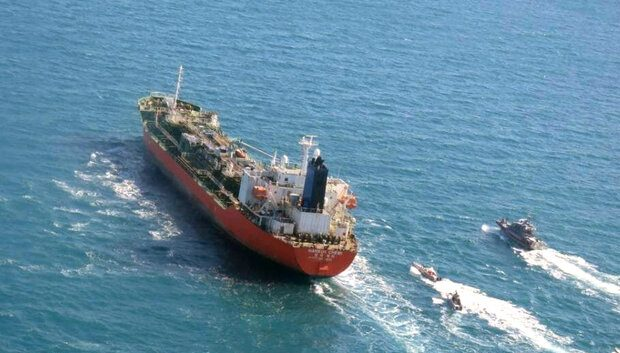 توقیف نفتکش کره جنوبی در خلیج فارس