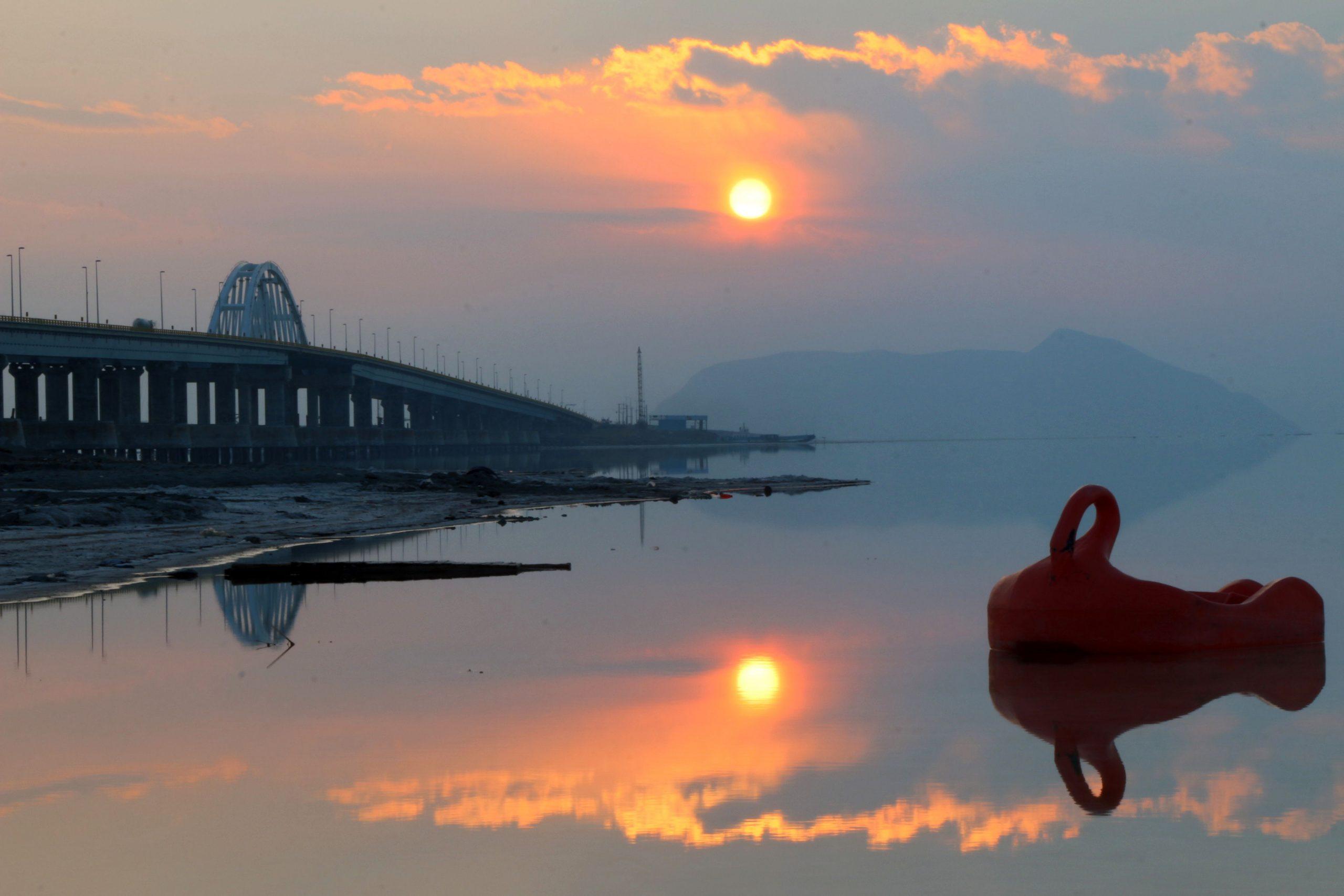 احیای دریاچه ارومیه در یک قدمی احیا