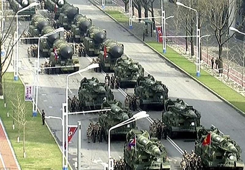 نمایش قدرت نظامی کره شمالی موشک بالستیک قاره پیما