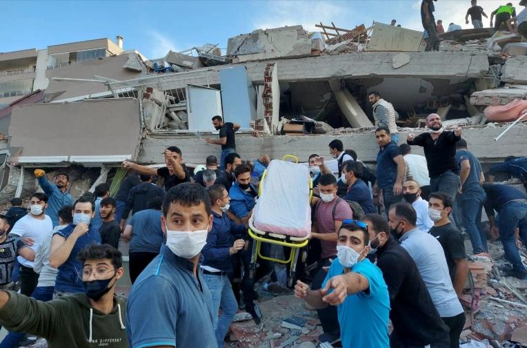 زلزله شدیدی غرب ترکیه و یونان را لرزاند