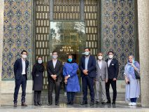 سفیر ژاپن در ایران از مجموعه فرهنگی تاریخی نیاوران بازدید کرد