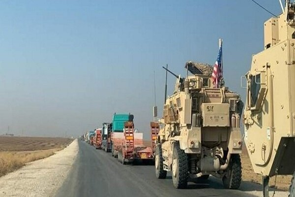 کاروان نظامی آمریکا از سوریه وارد عراق شد