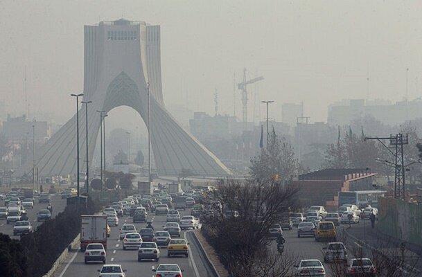 ادامه شرایط آلودگی هوا در تهران