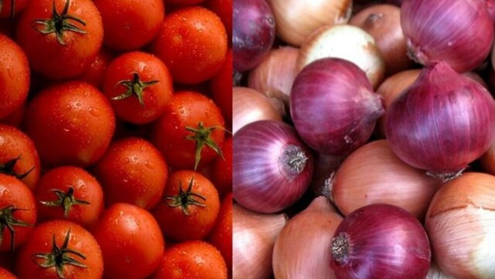 پیاز و گوجه در ترهبار ارزان شد