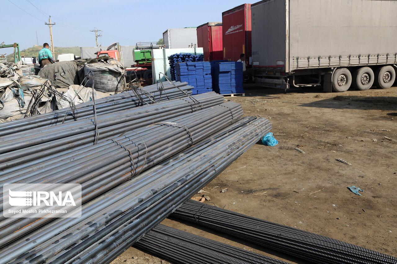 ارزش صادرات زنجیره و محصولات فولادی به ۱.۵ میلیارد دلار رسید