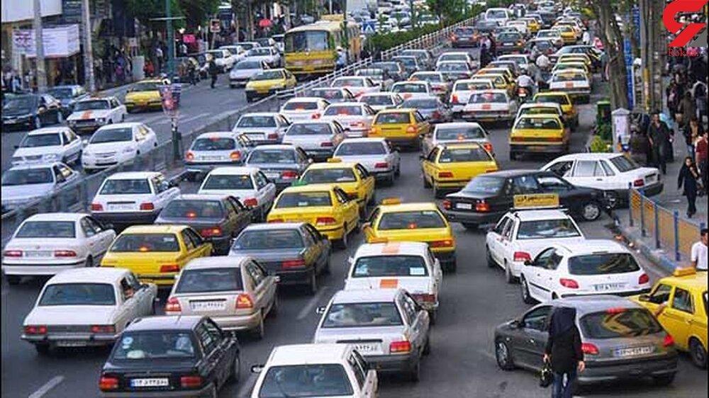 پلیس راهور: افزایش ۵۰ درصدی تردد خودروها