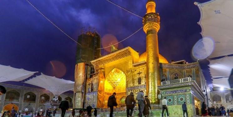 پایان بازسازی ایوان نجف تا تابستان ۱۴۰۱