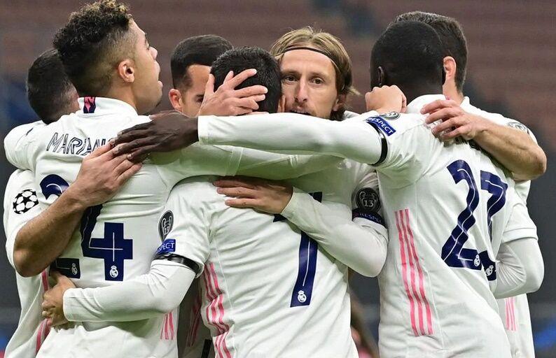 بُرد مهم رئال در لیگ قهرمانان اروپا