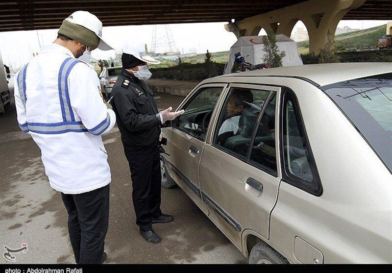 جریمه ۶ هزار خودرو در تهران به دلیل ماسک نزدن