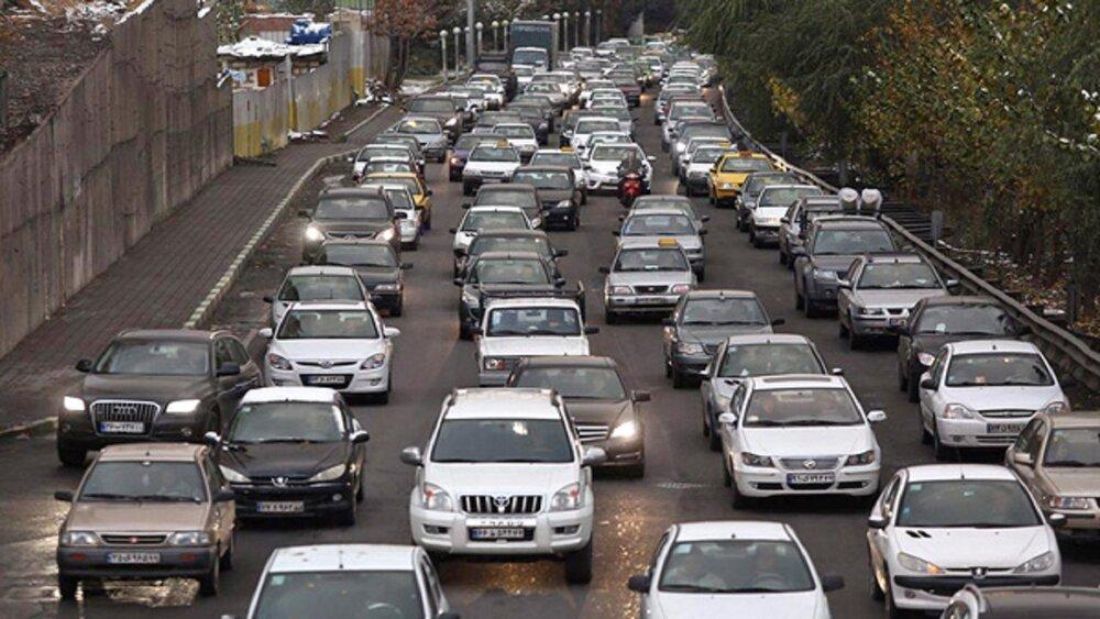 ترافیک در ورودیهای تهران