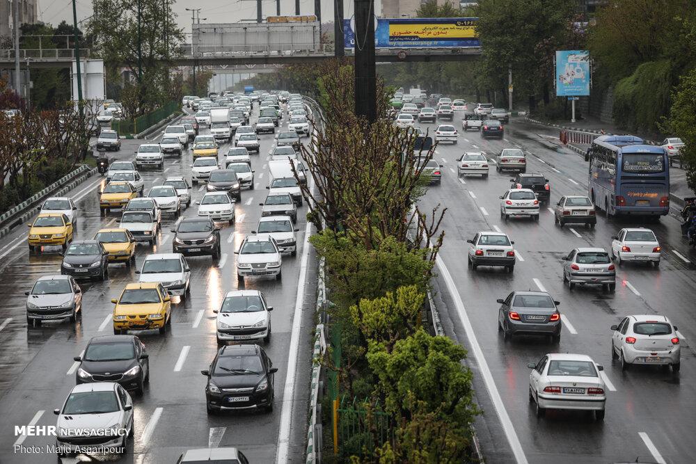 ترافیک سنگین در پایتخت