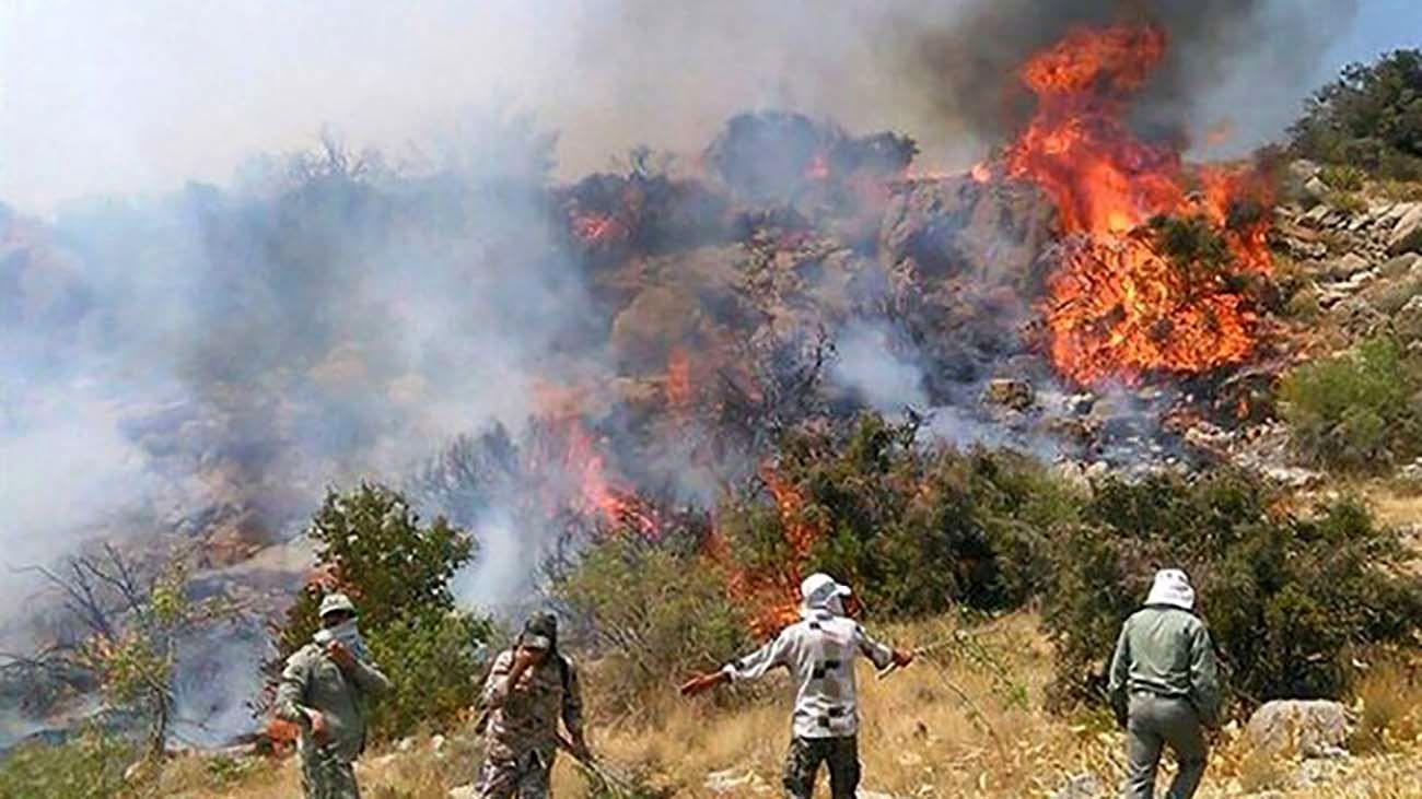 آتشسوزی در توسکستان تکذیب شد