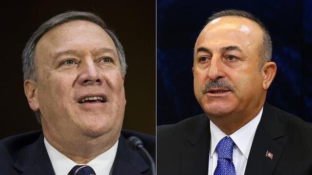 جدال لفظی وزرای خارجه ترکیه و آمریکا