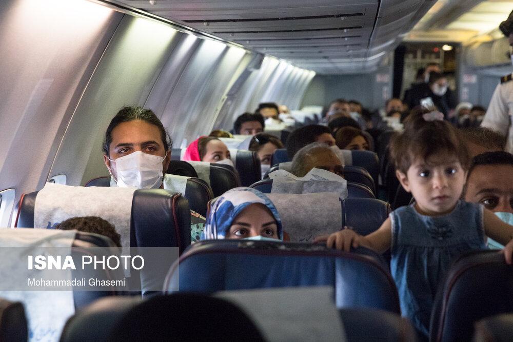 اعلام جزئیات استعلام کروناییها برای صدور بلیت هواپیما