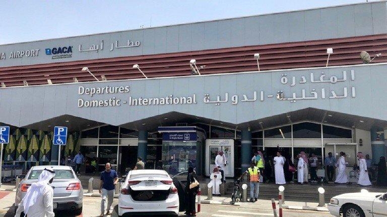 انصارالله یمن به فرودگاه أبها عربستان حمله کرد