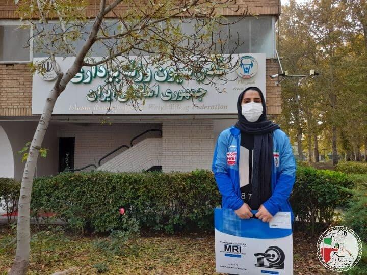 دوری ۶ هفتهای وزنه بردار زن ایران از تمرینات
