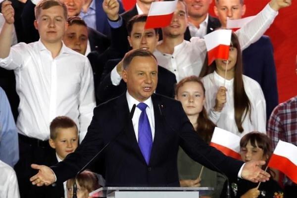 ابتلای رئیس جمهور لهستان به کرونا