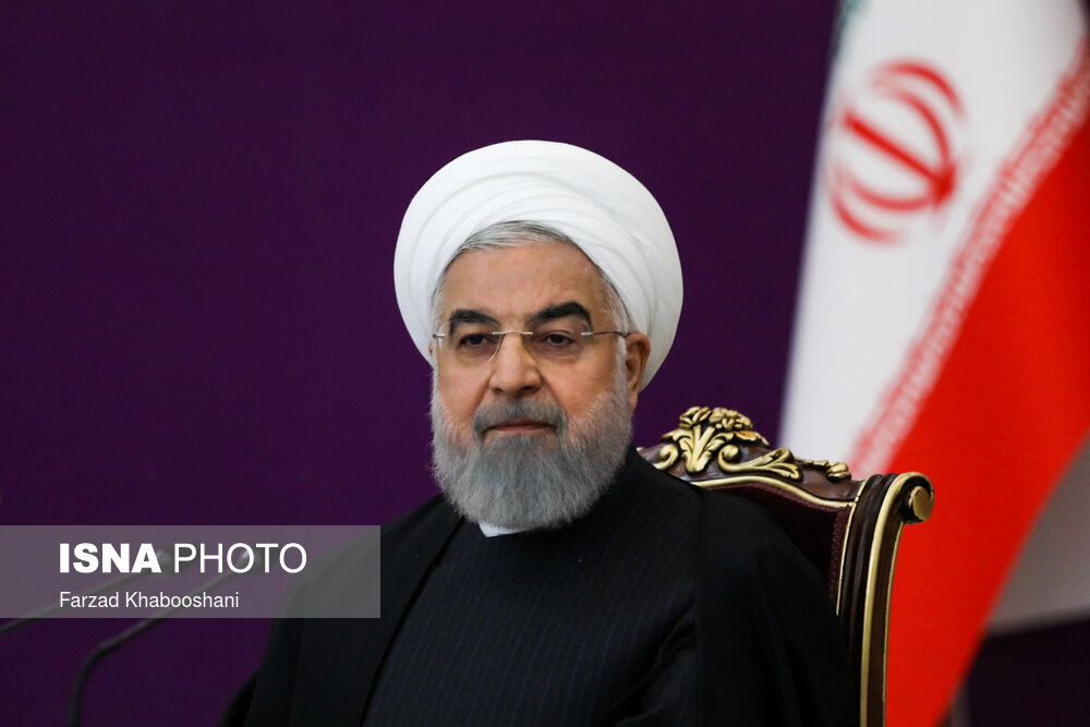 سخنرانی روحانی در نشست مجازی سران کشورهای عضو سازمان همکاری شانگهای