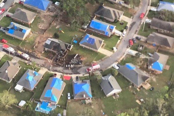 هواپیمای نیروی دریایی آمریکا در آلاباما سقوط کرد