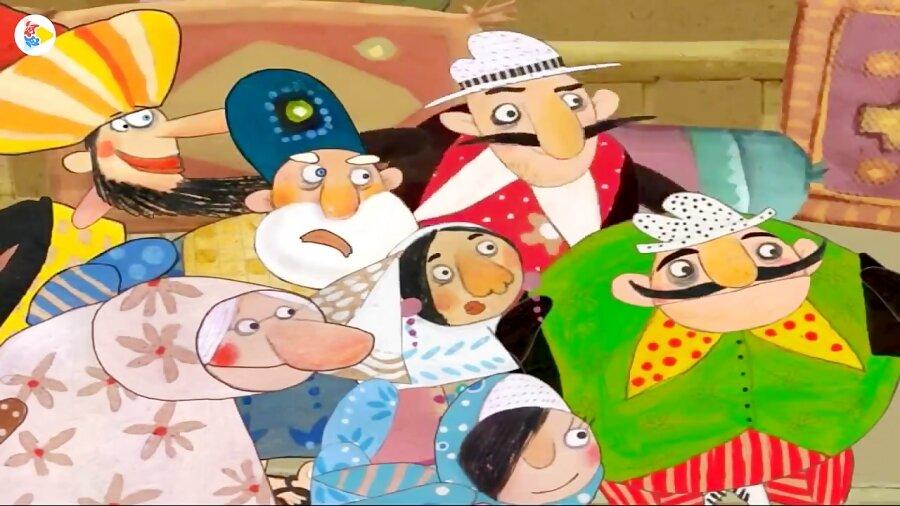 شخصیتهای کارتونی باید بتوانند از تلویزیون خارج شوند