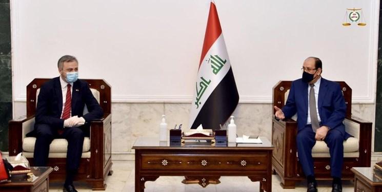 دیدار سفیر روسیه در بغداد با نوری المالکی