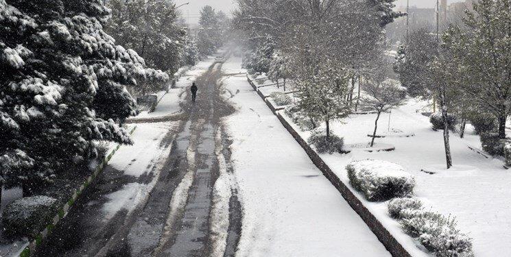 برف مازندران را سفیدپوش کرد