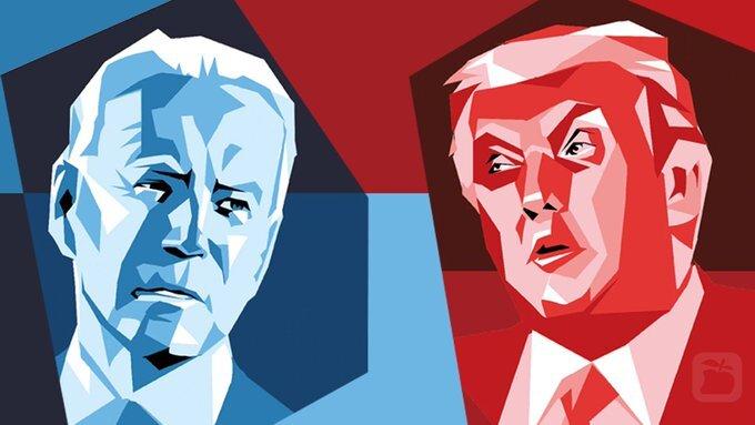 آخرین نتایج شمارش آرای انتخابات آمریکا + عکس