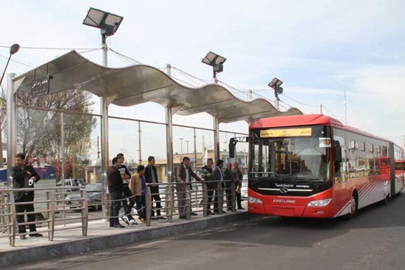 اتوبوس های جدید وارد تهران می شوند