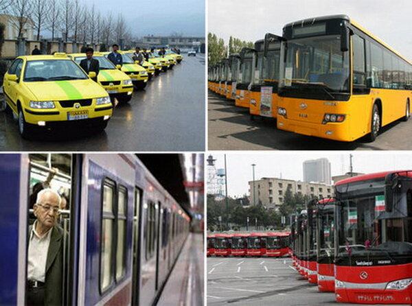 کاهش ساعت کاری حمل و نقل عمومی با تصمیمات ستاد ملی کروناست